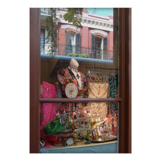 NOLA Window Reflection Print
