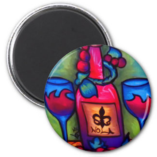 Nola Wine Magnet