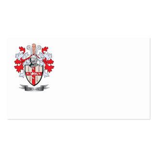 Nolan Coat of Arms Business Card