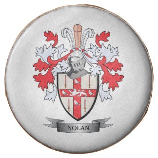 Nolan Coat of Arms Chocolate Covered Oreo