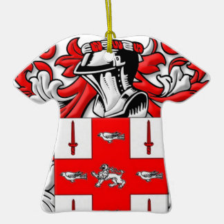 Nolan Coat of Arms Christmas Ornament