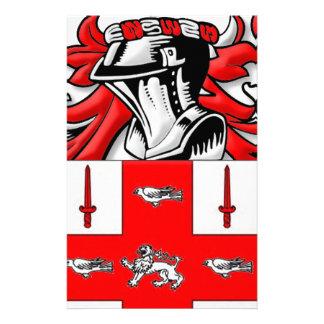 Nolan Coat of Arms Custom Stationery