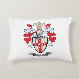 Nolan Coat of Arms Decorative Pillow