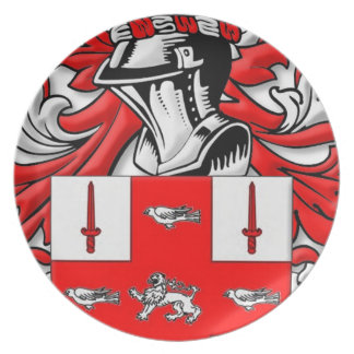 Nolan Coat of Arms Dinner Plate