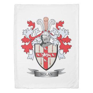 Nolan Coat of Arms Duvet Cover