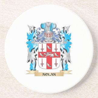 Nolan Coat of Arms - Family Crest Coaster