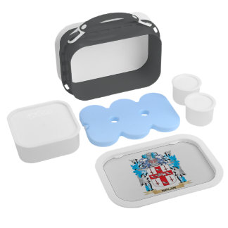 Nolan Coat of Arms - Family Crest Lunch Boxes