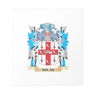 Nolan Coat of Arms - Family Crest Notepad