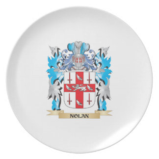 Nolan Coat of Arms - Family Crest Party Plates