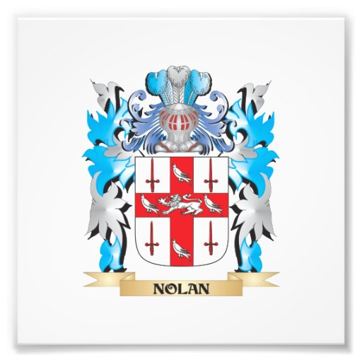 Nolan Coat of Arms - Family Crest Photographic Print