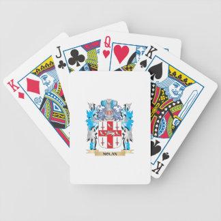 Nolan Coat of Arms - Family Crest Poker Deck
