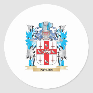 Nolan Coat of Arms - Family Crest Stickers