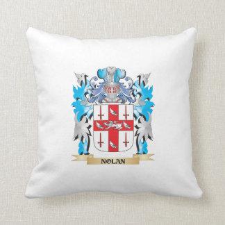 Nolan Coat of Arms - Family Crest Throw Pillows