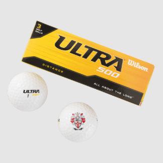 Nolan Coat of Arms Golf Balls