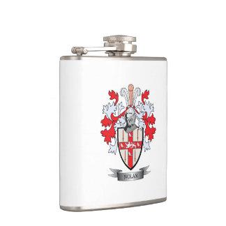 Nolan Coat of Arms Hip Flask
