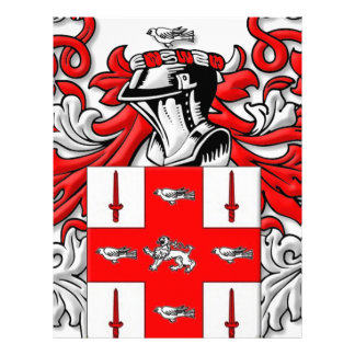 Nolan Coat of Arms Letterhead Template
