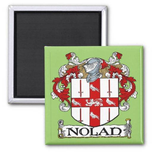 Nolan Coat of Arms Magnet