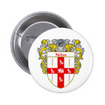 Nolan Coat of Arms (Mantled) Pinback Buttons