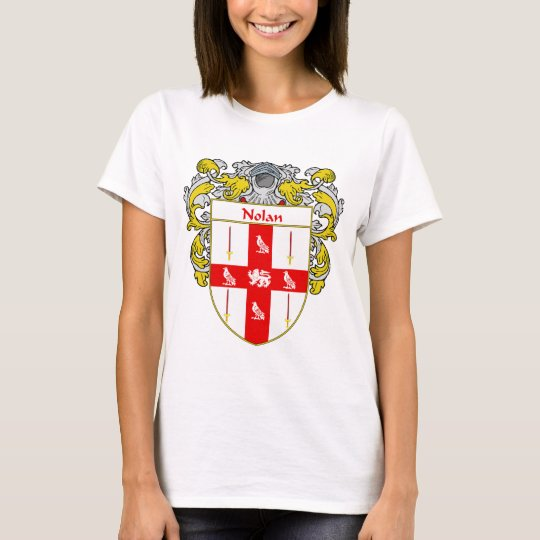 Nolan Coat of Arms (Mantled) T-Shirt