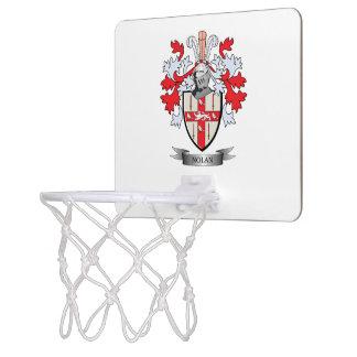 Nolan Coat of Arms Mini Basketball Hoop