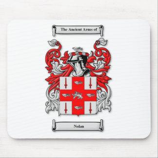 Nolan Coat of Arms Mouse Pad