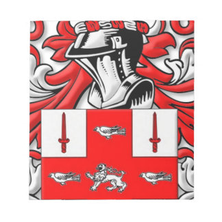 Nolan Coat of Arms Note Pad