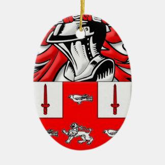 Nolan Coat of Arms Ornament