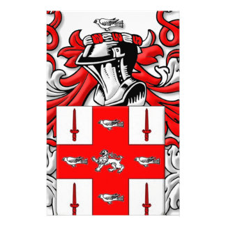 Nolan Coat of Arms Personalized Stationery