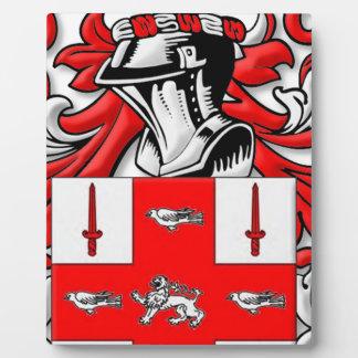 Nolan Coat of Arms Plaque