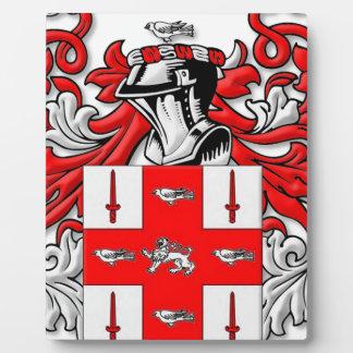 Nolan Coat of Arms Plaques
