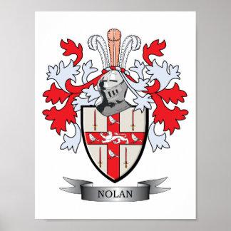 Nolan Coat of Arms Poster