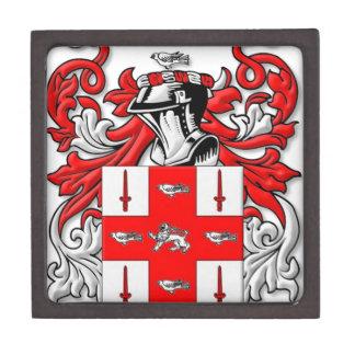 Nolan Coat of Arms Premium Keepsake Boxes