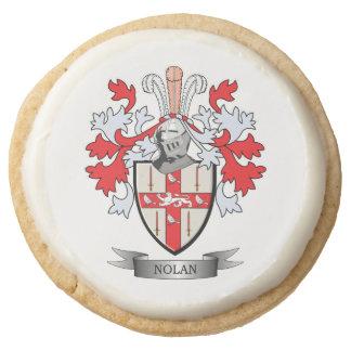 Nolan Coat of Arms Round Shortbread Cookie