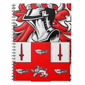 Nolan Coat of Arms Spiral Note Books
