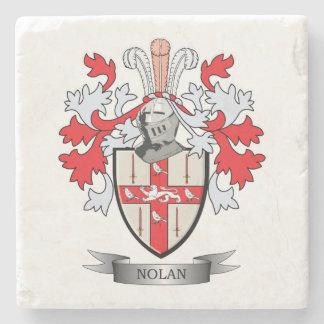 Nolan Coat of Arms Stone Coaster