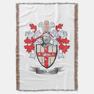 Nolan Coat of Arms Throw Blanket