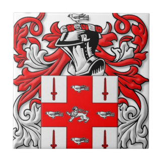 Nolan Coat of Arms Tile