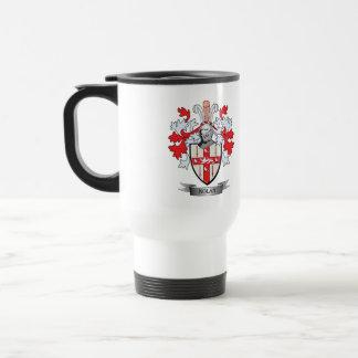 Nolan Coat of Arms Travel Mug