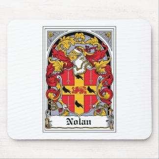 Nolan Family Crest Mouse Pad