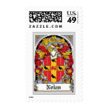 Nolan Family Crest Stamps
