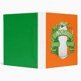 Nolan Irish Shield 3 Ring Binder