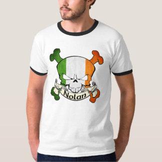Nolan Irish Skull T-Shirt