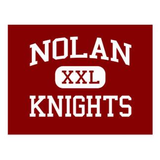 Nolan - Knights - Middle School - Detroit Michigan Postcard