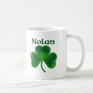 Nolan Shamrock Coffee Mug