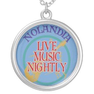 Nolandia Live Music necklace
