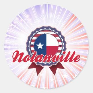 Nolanville, TX Classic Round Sticker