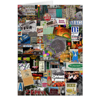 NolaOriginals Collage Art 2016 Card