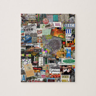 NolaOriginals Collage Art 2016 Jigsaw Puzzle