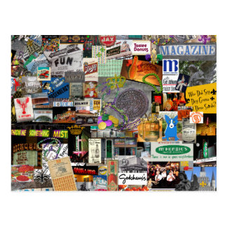 NolaOriginals Collage Art 2016 Postcard