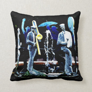 """NOLA's Fountain Boys"" JTG Art Pillow"